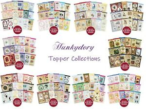 Hunkydory Topper 15 Sheets Die Cut Foiled Pop Out Toppers Card Making Craft