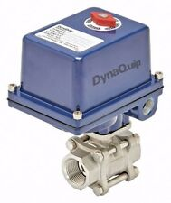 """DynaQuip Electric Actuated Steel Ball Valve    1"""" Pipe  1AWH6 (E3S25AJE21) New"""