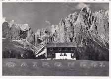 TRENTO VIGO DI FASSA 25 RIFUGIO LARSEC CIAMPEDIE Cartolina FOTOGRAFICA viag 1957