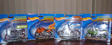 Set of 4 Hot Wheels Motorcycles – Brand New