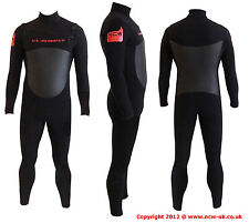 5/3 mini front zip winter steamer surfing wetsuit.GBS seams. QUALITY. Size LARGE