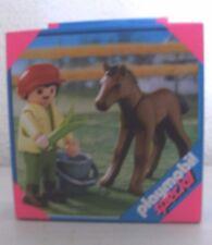 PLAYMOBIL SPECIAL jeune avec poulain 4647 neuf et emballage d'origine ferme