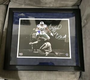 Ezekiel Elliott Dallas Cowboys Framed 11x14 Photo - Facsimile Signature