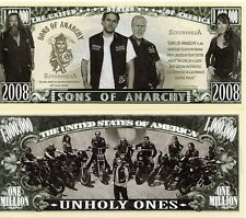 Sons of Anarchy TV Series Million Dollar Novelty Money
