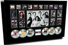 NEW INXS MICHAEL HUTCHENCE SIGNED FRAMED LIMITED EDITION MEMORABILIA