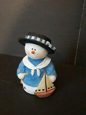 """Sarah's Attic Snowonders Collection, #7526 """"Ahoy"""",  ie/1629 No box"""