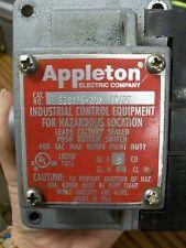 Appleton EDS175-RU2 12/07 Push Button Switch