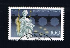 GERMANIA 1 FRANCOBOLLO SAN GIOVANNI NEPOMUCENO 1993 timbrato