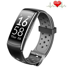 Smartband Q8H Gris Pulso Reloj Blutdruck Smartwatch Deporte Fitness