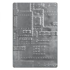 Tim Holtz Foundry 3D Embossing Folder 662717 Texture Fades NEW RELEASE