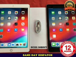 GRADE A/B Apple iPad 6th Gen 32GB 128GB WiFi Cell 4G Unlocked Silver Gold Grey