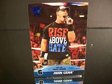 John Cena Topps 2013 Card #6 Top Ten Trash Talkers