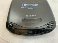 Sony Discman Compact Disc Player D-142CK - Good Working Condition