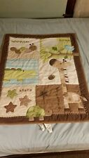 Jungle Crib Set **Quilt, dust ruffle, fitted sheet**