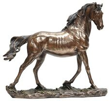 Veronese Bronze Figurine Animals Galloping Horse Home Decor Gift Wild