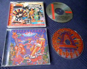 2 CDs Santana - Definitive Collection Best Of Greatest Hits & Supernatural MARIA