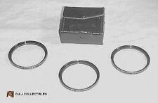 VIVITAR 55 mm  CLOSE-UP  CAMERA  COATED LENS SET  NOS.  1, 2 & 4 W/ CASE