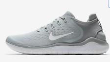 NIB Nike FREE RN 2018 Men's Running Shoe 942836 003 Wolf Grey/White SZ 7-15