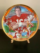 Joe Montana Collector Plate