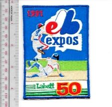 Beer Baseball Montreal Expos & Labatt 50 1991 National League Promo Patch