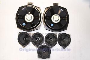 Genuine BMW F01 F07 GT F30 F34 E89 HiFi System Carbon Loudspeakers Audio