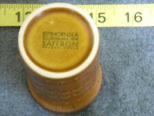 Vintage Hornsea England 1976 Saffron Salt or Pepper Shaker