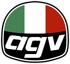 "#1096 (1) 2.5"" AGV Vintage Logo Motorcycle Racing  Decal Sticker Laminated"