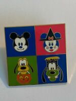 Disney Halloween Mickey Minnie Mouse Pluto  fabric appliques style #2
