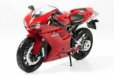 NIB New-Ray Ducati 1198 red motorcycle 1:12 diecast model toy