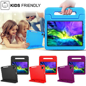 For Apple iPad Lightweight Kids Friendly Shockproof Protective Handle Case Cover
