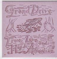 (FJ319) Grand Drive, True Love And High Adventure - 2001 DJ CD