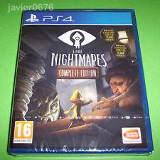 LITTLE NIGHTMARES COMPLETE EDITION NUEVO PRECINTADO PAL ESPAÑA PLAYSTATION 4 PS4