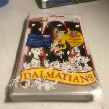 Disney Masterpiece Collection *101 Dalmations* Brand New Sealed VHS Videotape+