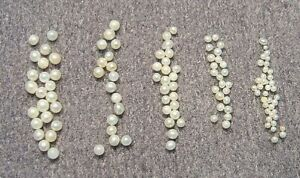 Fresh Water Seed Pearls, Jewelleries Repair, Oval, Round, Half Drill