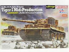 Dragon 6624 Bausatz Tiger I Mid-Production s.Pz.Abt.506 w/Zimmerit M.1:35