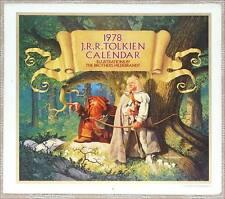 1978 JRR TOLKIEN CALENDAR ~ BROTHERS HILDEBRANDT ILLUS ~ NEW
