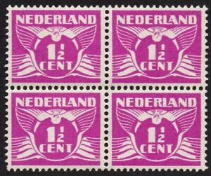 NVPH 171 Af of 171A P1 Vliegende Duif Gent i.p.v. Cent postfris met certificaat