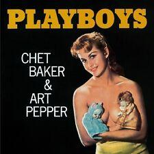 Chet Baker, Chet Baker & Art Pepper - Playboys [New CD] Bonus Tracks, Rmst