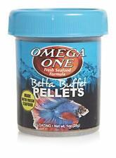 New listing Omega One Betta Buffet 1.5mm Pellets, 1 oz