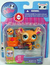 2013 MIP Littlest Pet Shop Mommy & Rolling Baby Spotted MOUSE 3336 3337 FREE SHP