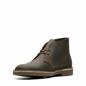 Clarks Mens Bushacre 2 Leather Round Toe Ankle Fashion Boots, Beeswax, Size 10.5