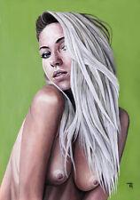 Original Female Nude | Blonde | Oil Painting | Fine Art | T. GRIFFITHS 2020