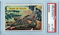 1965 Topps Battle #27 Train of Death PSA 6