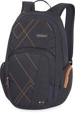 Dakine FINLEY 25L Black Zippered Front Side Pockets Bookbag Backpack