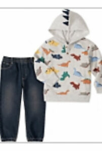 New W/Tags Kid's Headquarter's Boys Hoodie And Jeans Set Size 5T, MRCP $40