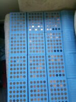 LINCOLN HEAD CENT COLLECTION Book Number 2 Album COMPLETED 1941-1974 P,D,S
