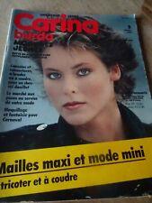 🧵✂✂✂✂MAGAZINE BURDA CARINA  VINTAGE MODE JUPE BLOUSE TUNIQUE FEVRIER 1982