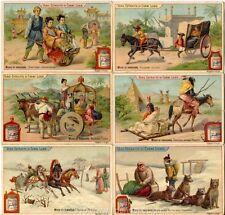 Chromo Liebig Sang. 579 ITA Modo di Viaggiare ANNO 1898