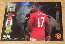 Panini FIFA 365 2012/2013 12 13 Limited Edition Champions League Nani  card