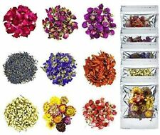 Dried Flowers,Natural Dried Flower Herbs Kit for Bath,Soap Making,Candle Making
